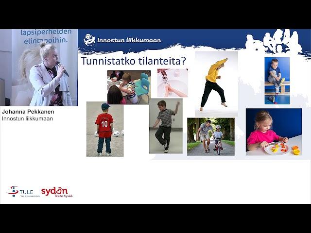 Kuperkeikka hukassa tai sukat väärissä jaloissa - miten tuen lapsen motorisia taitoja arjessa