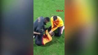 Galatasaray'da yabancı futbolcuların neşeli anları