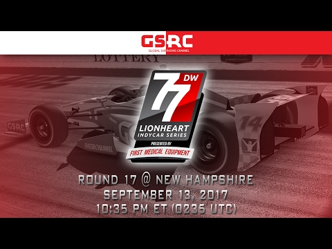 Lionheart IndyCar Series - 2017 Round 17 - New Hampshire