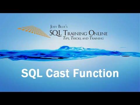 Sql Training Online - Cast Function