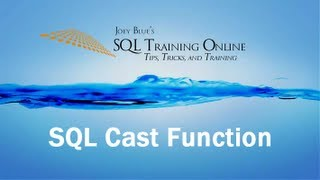 Sql Training Online - Cast Function
