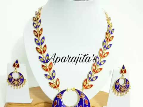 Contemporary Assamese Jewellery designs