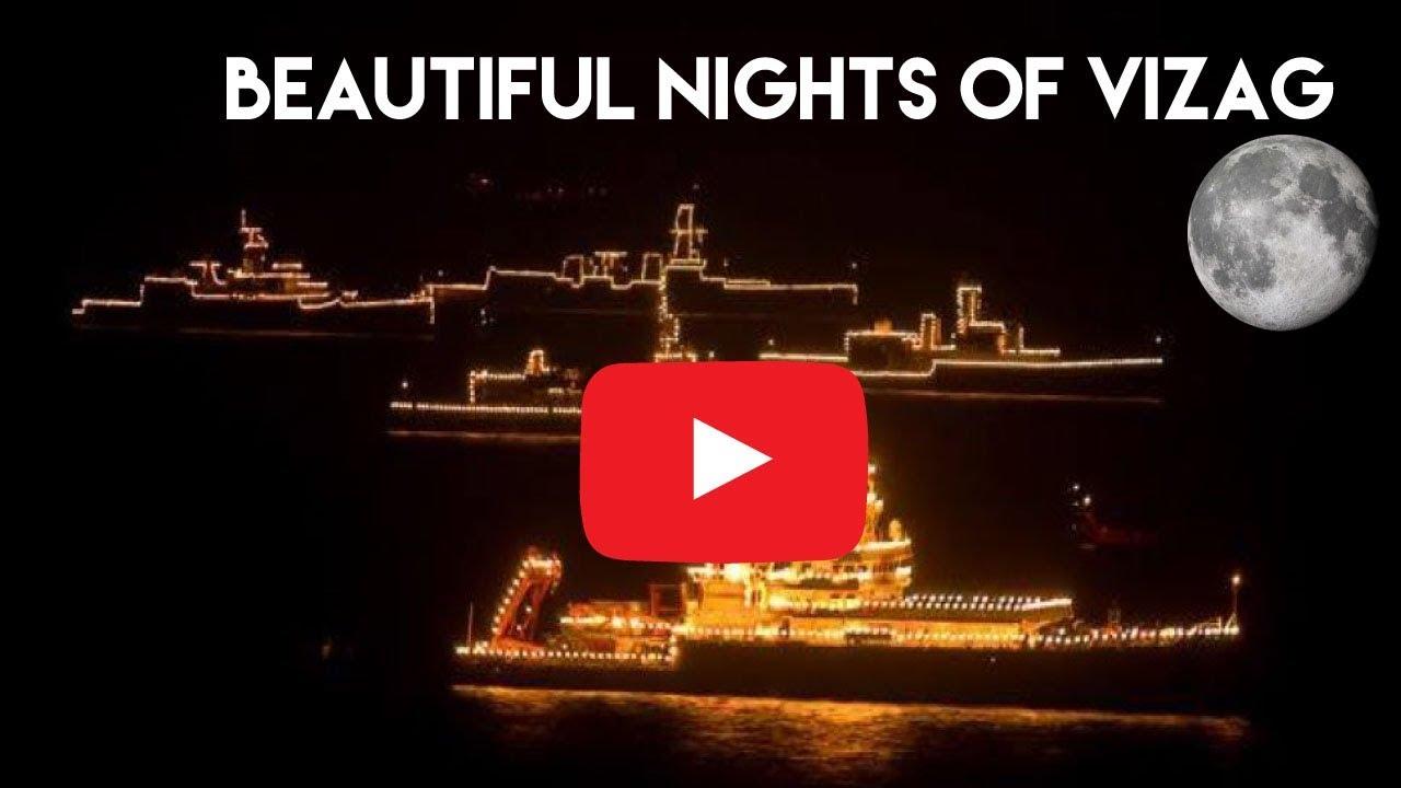 Beautiful Nights Of Vizag - Beach Road Visakhapatnam 2017-11-05 13:53