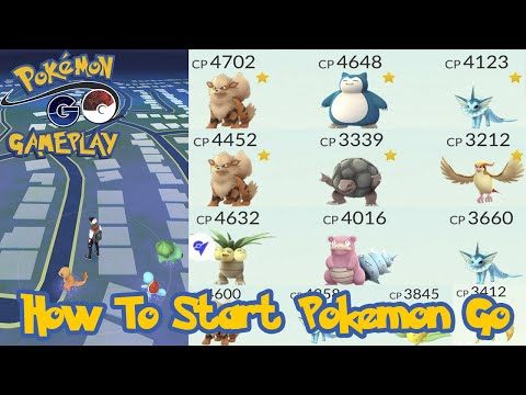 How To Start Pokemon Go! The Right Way!
