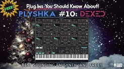 3000 presets for DEXED VST Synthesizer also loads Yamaha dx