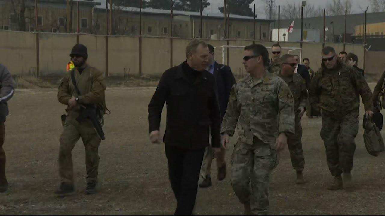 Pat Shanahan Afghanistan Visit