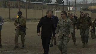 Acting US Defense Secretary Shanahan in Afghanistan