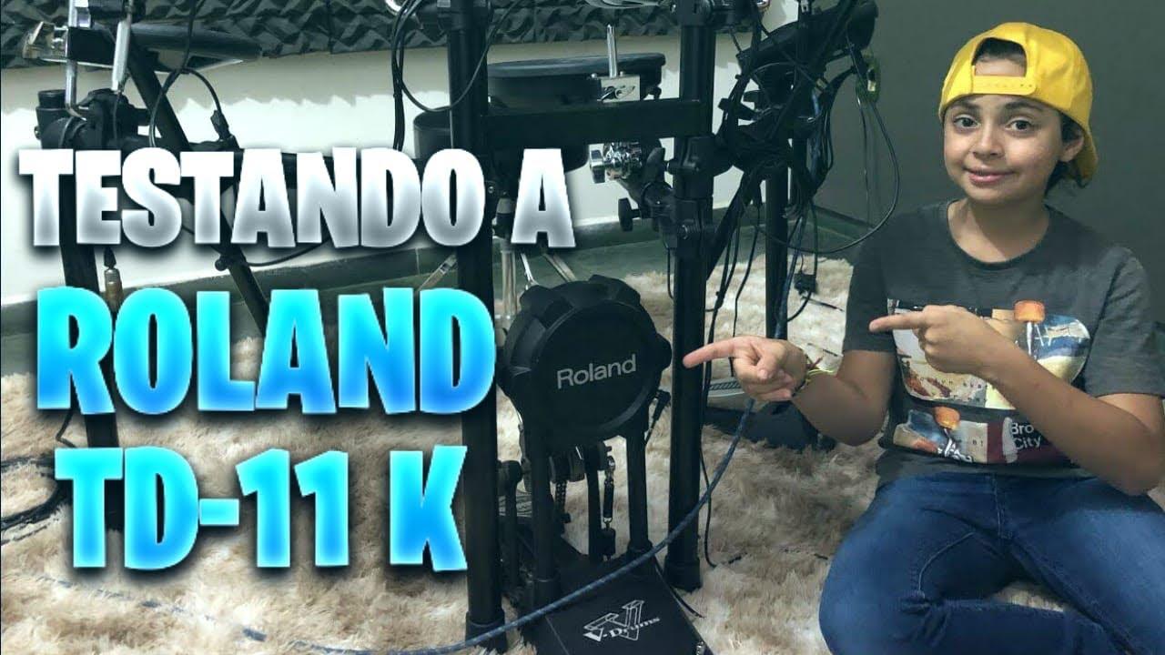 Testando a Roland TD-11K (Hey, Pai - Isadora Pompeo