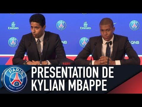 Conférence de presse de présentation de Kylian Mbappé