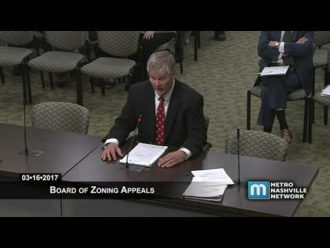Board of Zoning Appeals 03/16/17