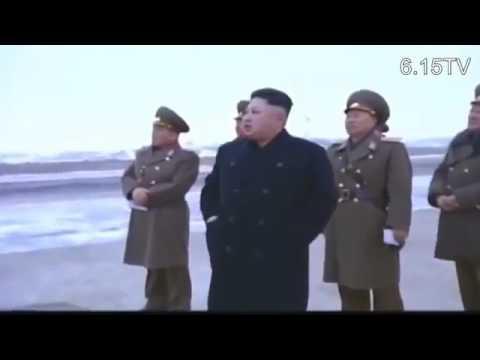 North Korean Air Force Flight Exercises, Kim Jong Un Guides