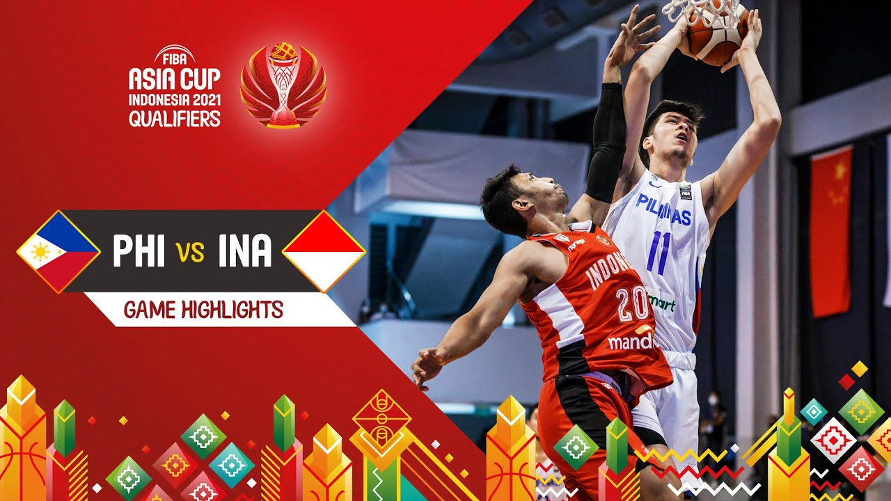 Philippines - Indonesia | Highlights - FIBA Asia Cup 2021 Qualifiers