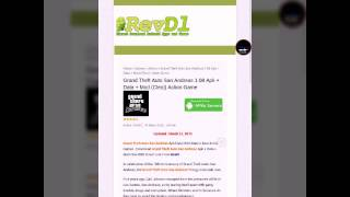 How To Download Gta San Andreas/mod 1.08 Apk Free