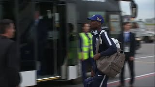Teams arrive in Russia ahead of 2018 World Cup