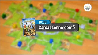 Boardgame Olympic Hungary 2018 - Carcassonne (FINAL)