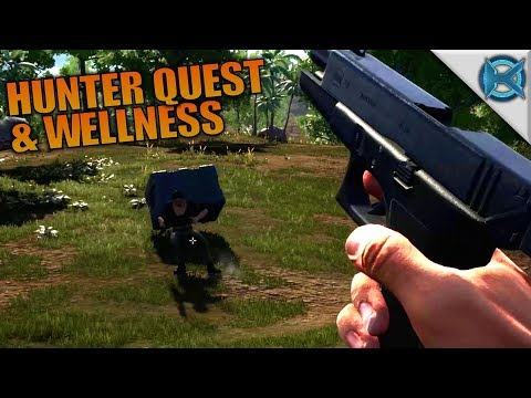 HUNTER QUEST & WELLNESS | Hold Your Own | Let's Play Gameplay | S01E02