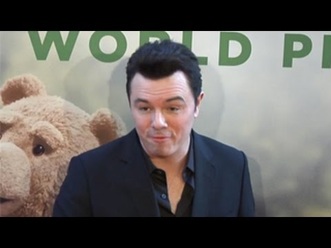 "Seth MacFarlane Tells Photogaphers To SHUT THE F**K UP! While Arriving At ""Ted 2"" New York Premiere"