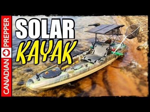 Solar Powered Kayak