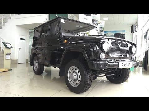 2017 UAZ Hunter. Start Up, Engine, And In Depth Tour.