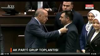 Erdoğan rozeti taktı, Güven Övün Ak Parti'de