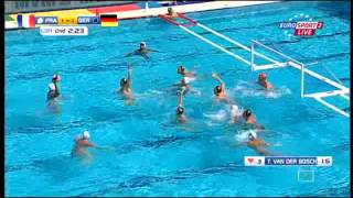 France-Germany.Waterpolo.Championship Budapest2014