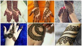 Unique & Cute Henna Mahendi designs