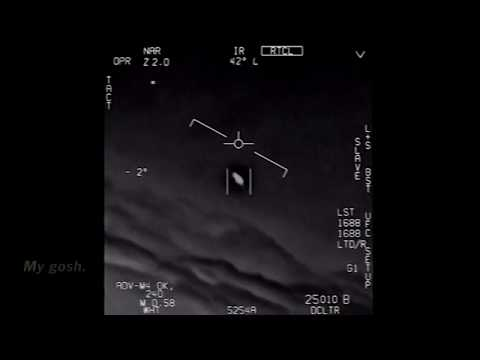 Navy Jet Chases UFO F/A-18 Official Department Of Defense Footage ATFLIR GIMBAL ВМФ США НЛО Пентагон