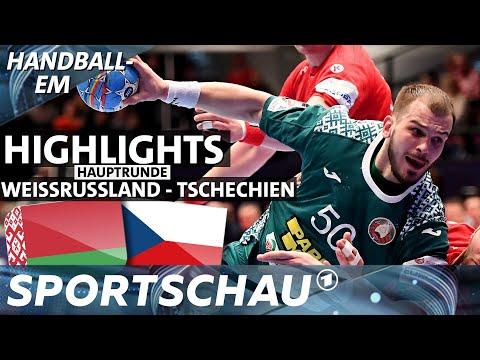 Zeitstrafe zur Unzeit: Weißrussland gegen Tschechien, der Spielbericht | Handball-EM | Sportschau