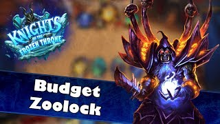 KotFT Budget Zoolock | Hearthstone Deck Spotlight | Budget Deck vs Top Tier Deck