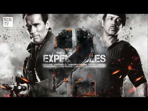 The Expendables 2 Stallone & Schwarzenegger Interview - Action Movie Genre & Life Lessons