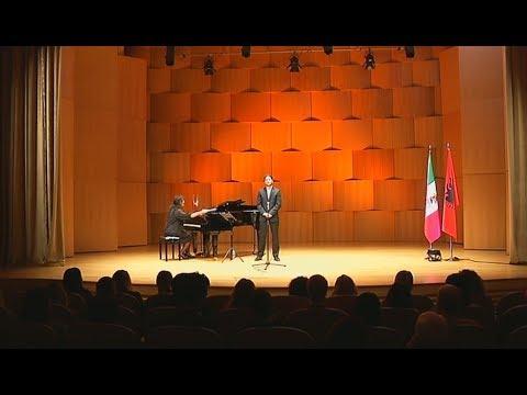 Mexican culture, Sebastian Torres Nunes and Deborah Marino perform in Albania
