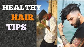 5 Healthy Hairstyle Tips For Men