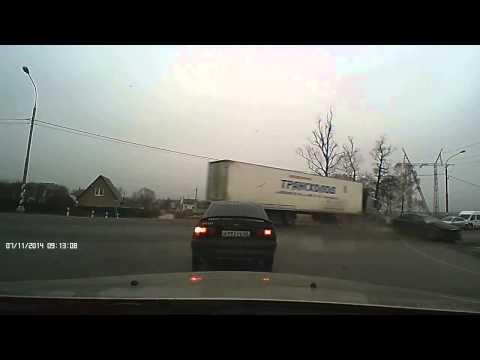 Массовое ДТП в Белоусово Калужской области