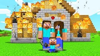 Raising My Own Family In Minecraft!