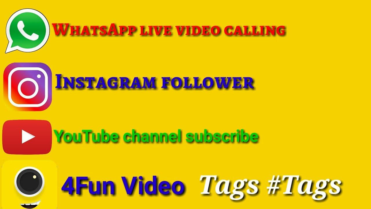 #Hashtag Instagram follower WhatsApp fans subscribe 4Fun