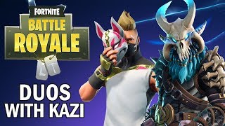 Disastrous Duos With Kazi! - Fortnite Battle Royale Gameplay - Season 5 - Xbox One X
