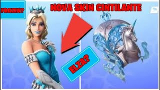 Fortnite * I BOUGHT the NEW SKIN FROM FROZEN? Elsa?