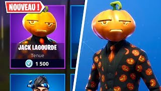 "New SKIN ""JACK LAGOURDE"" - FORTNITE BOUTIQUE of October 20, 2018!"