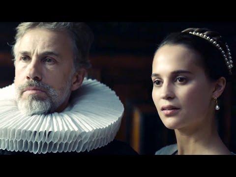 Тюльпанная лихорадка — Русский трейлер (2017)