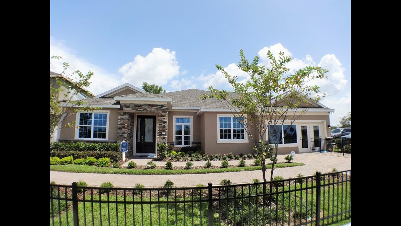 Black Lake Preserve By Royal Oak Homes In Winter Garden Baldwin Model