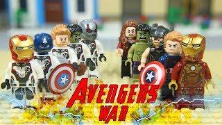 Lego Superhero Avenger War Endgame Episode 04