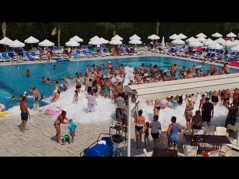 Seher Sun Palace Türkei / Турция 2019 Hotel пенная вечеринка / Schaumparty / Party Evrenseki