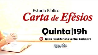 "Estudo Bíblico: ""Efésios 4.1-16"" - 08 de abril de 2021"