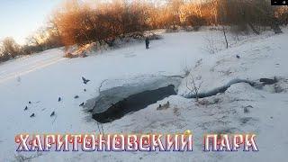 Харитоновский парк г Екатеринбург декабрь 2020 года