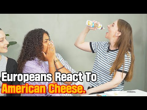 American and European People Swap Cheeses For The First Time!!