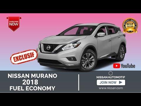 2018 Nissan Murano Fuel Economy and Driving Range