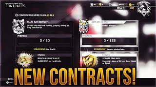 New Contracts Added To Infinite Warfare!  Stryker Gear Hack