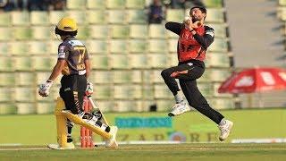 Junaid Khan's 3 Wickets Against Rajshahi Kings | 15th Match | Edition 6 | BPL 2019