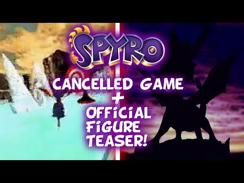 Old Spyro Game Prototype For Xbox - Spyro Official Figure First 4 Figures Pre-Order July 18th!