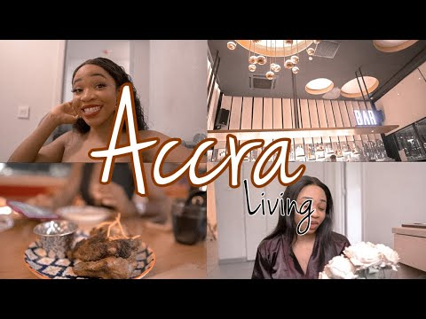 Accra living #2 - date night  + fake plant & candle shopping + pedicure + salon day + more...
